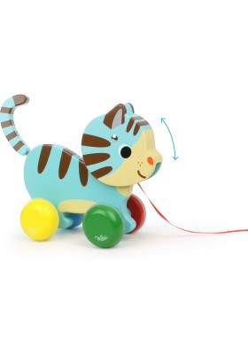Marcel cat pull toy