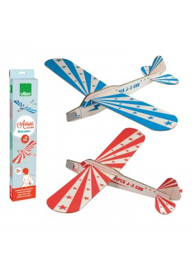 Set of 2 sky streak airplanes (packed by 6)