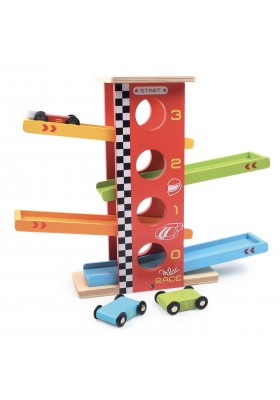 Cars race tower